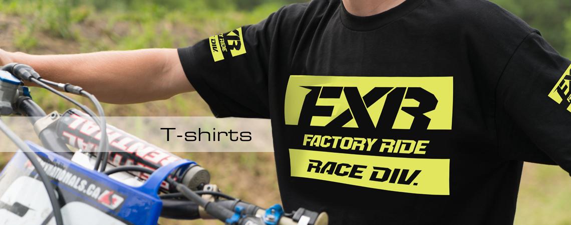 FXR T-shirts