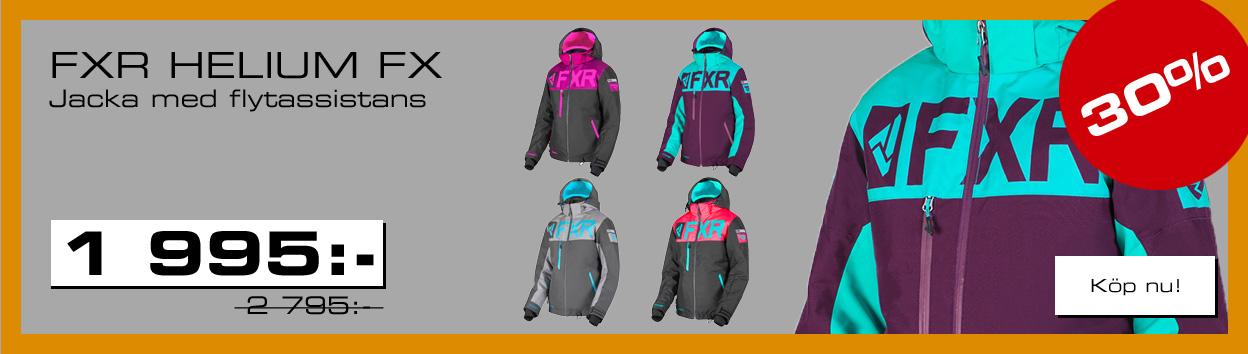 FXR Shoppen Outlet - 30% på FXR Helium FX damjacka