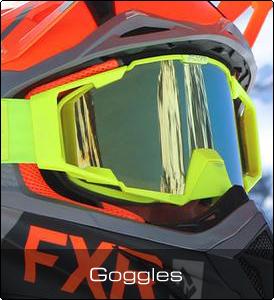 FXR Shoppen - Skoterglasögon