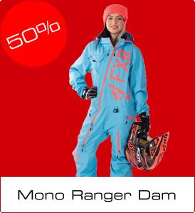 Mellandagsrea på Modshop - 50% på FXR Ranger Lite Monosuit dam