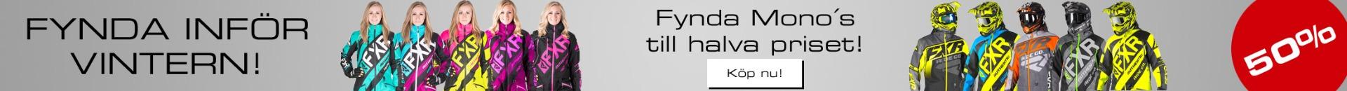 FXR Shoppen - Fynda inför vinter Halva priset på FXR skoterkläder