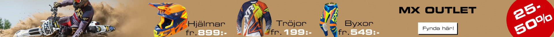 FXR Shoppen Lagerrensning - 25-50% på FXR crosskläder