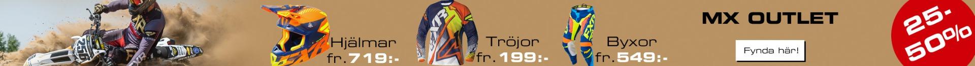 FXR Shoppen Lagerrensning - 25-60% på FXR crosskläder